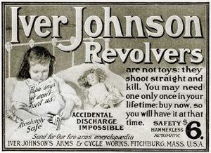 vintage ad revolver